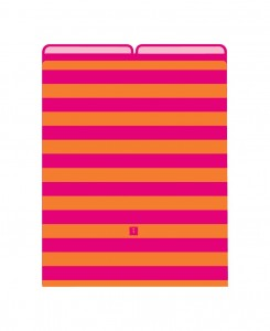 Semikolon Striped Vertical File Folders