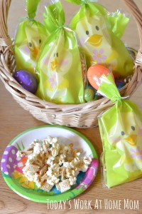 Candy-Coated Popcorn Party Mix (Gluten Free) 1