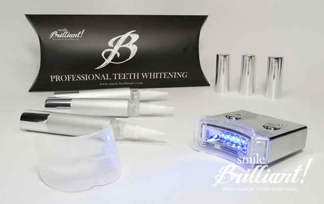 Smile Brilliant LED Teeth Whitening giveaway and review