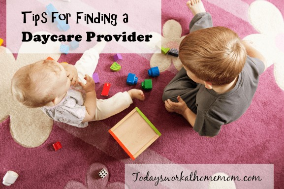 Tips for Finding a Daycare Provider