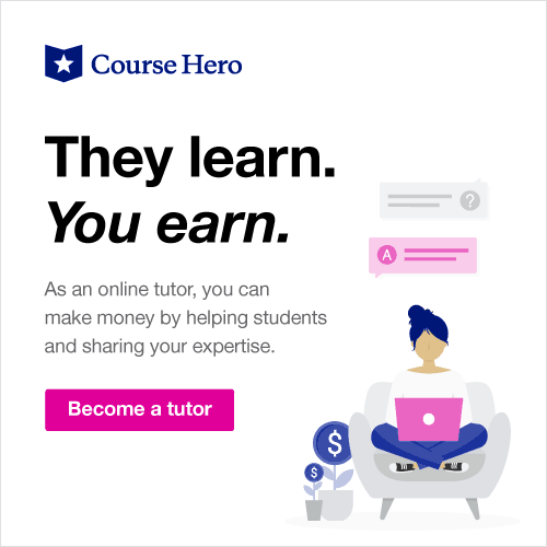 become a tutor with Course Hero