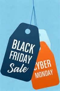 Black Friday thru Cyber Monday Shopping Event