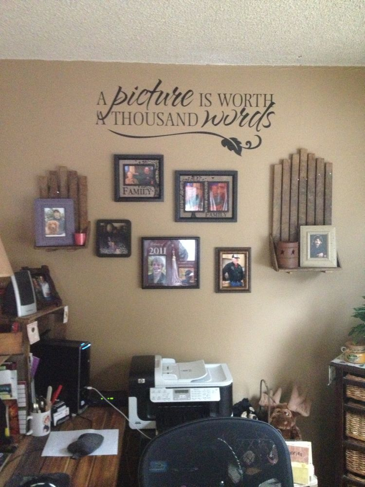 Decorate Your Walls with Words - Todays Work at Home Mom