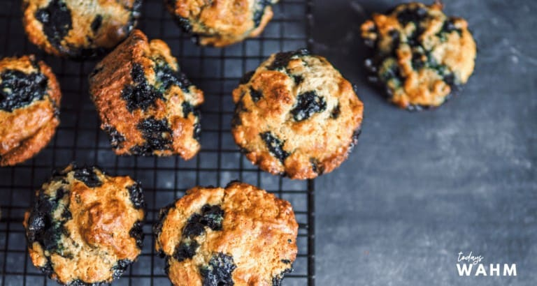 Blueberry Pumpkin Streusel Muffins Recipe
