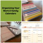 Organizing Your Work and Family Calendars