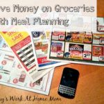 Saving Money on Groceries With Meal Planning and Once a Week Shopping
