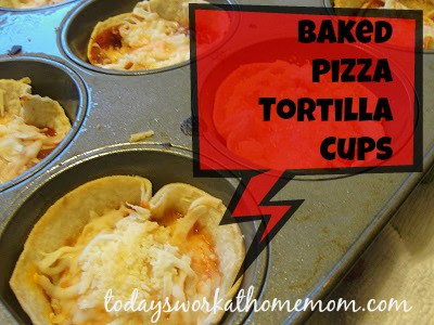twahm baked tortilla pizza cups