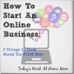 Five Things To Know About The First Year With An Online Business