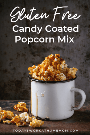 Candy-Coated Popcorn Party Mix Gluten Free