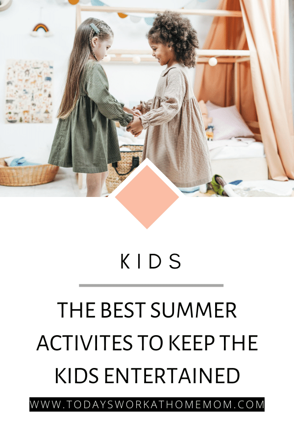 How to keep the kids entertained over sumer