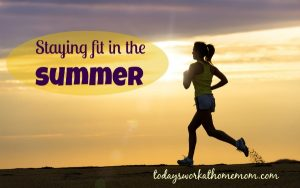 staying fit in the summer 1