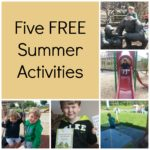 Five FREE Summer Activities