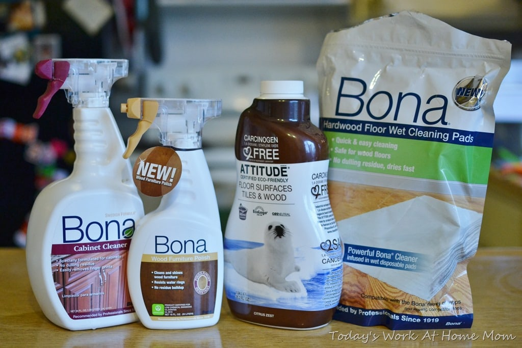 Non Toxic Cleaning With Bona Todays Work At Home Mom