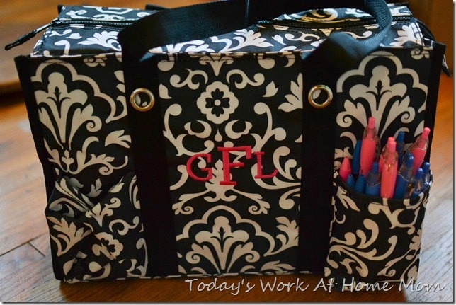 Getting organized with thirty-one gifts