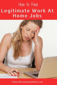 How to Find Legitimate Work at Home Jobs (1)