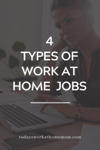 4 types of work at home jobs for freelancers