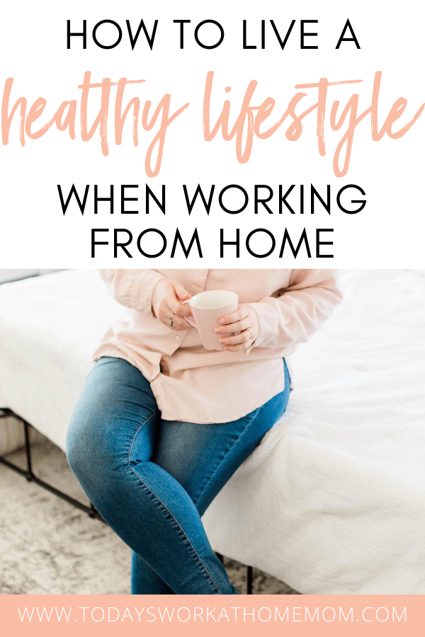 Are you struggling to stay healthy when working from home? It can be hard! Here are my top tips for staying healthy when working from home