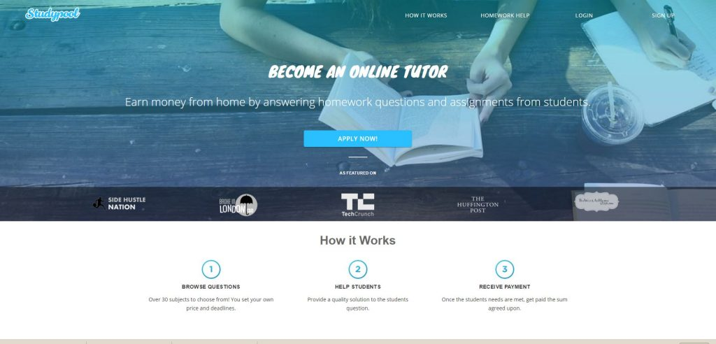make assignments and earn money