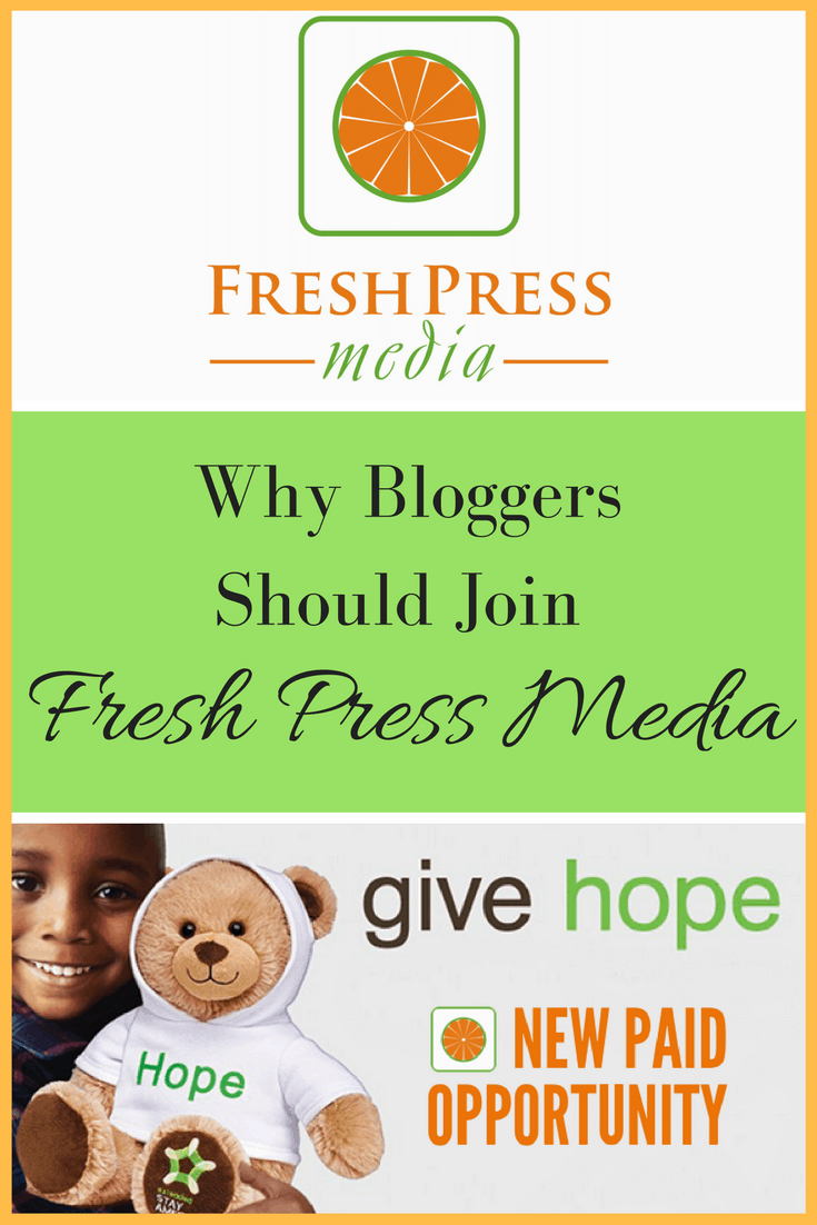 As a Fresh Media Press ambassadors I'm getting the word out to bloggers about their great platform where influencers and advertisers come together.