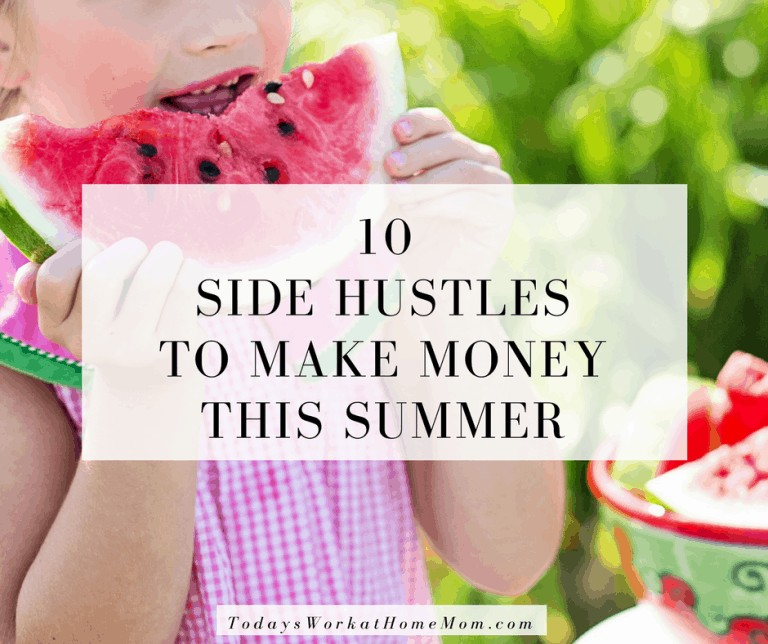 Looking for ways to make money this summer? Here's 10 way to turn talents into a side hustle business and made some extra cash during the summer.