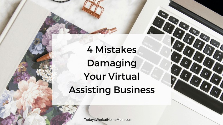 You made the decision to start a virtual assisting business. Learn how to avoid 4 main mistakes people make in growing their business.