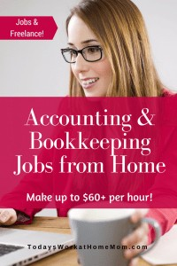 Accounting and Bookkeeping jobs from home is one of the growing career fields in telecommuting. Find out how to get started working as a bookkeeper at home.