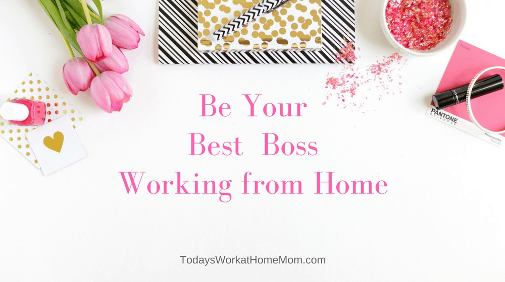 Working from home can be great, but it also has its challenges. One is balancing your role as boss and employee of yourself. Here some tips to help!