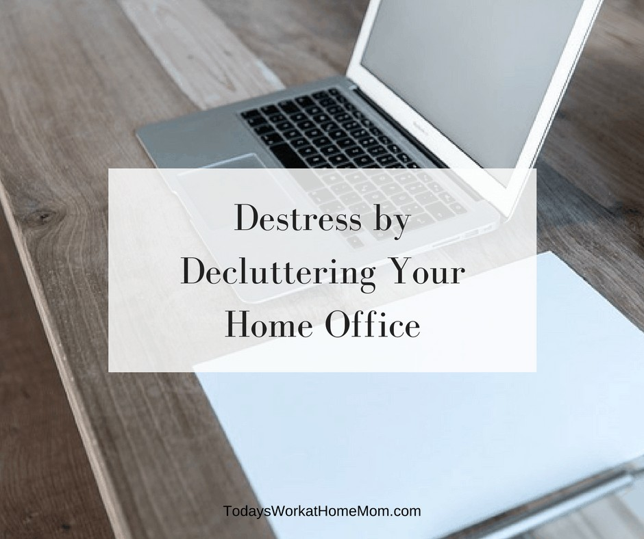 Is your work being affected by the need to destress by decluttering your home office? Here's some basic, but helpful ways to organizing your home office.