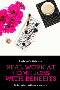 Every month more companies are moving from office based employees to work at home employees. Learn more about these real work at home jobs with benefits.