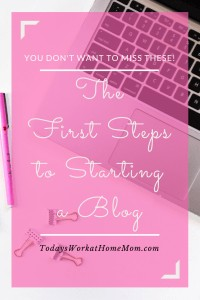 Before starting a blog there are some important first steps you should take to make sure your blog starts out right. Here are some tried and true steps.