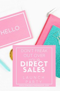Many direct sales companies recommend a direct sales launch party when you become a consultant. Here's some helpful tips to make your launch a success.