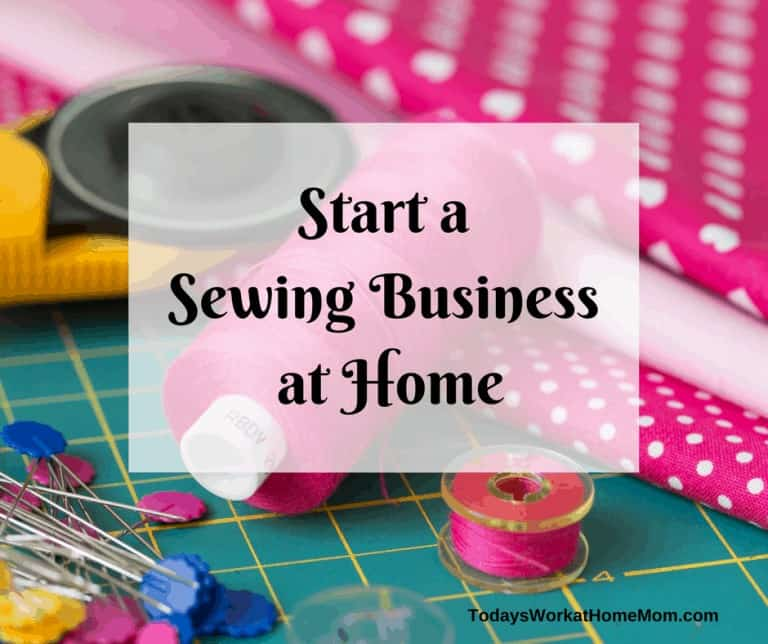 If you're enjoy sewing then a sewing business at home might be perfect for you. Learn how you can use your talents to start making money from home.