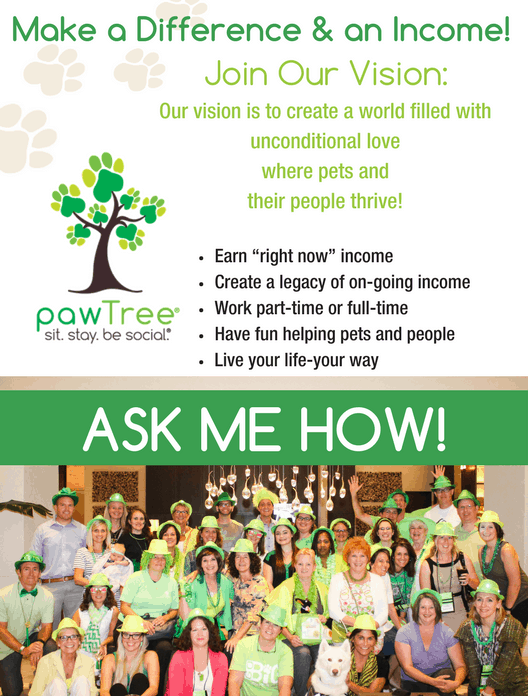 Calling all animal lovers!! Do you have pets? Do you love animals? Do you know others who love their animals as much as you do, or maybe even more? If you can answer yes, check out how you can earn money doing something you love.