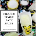 Pikachu Lemon Bath Salts