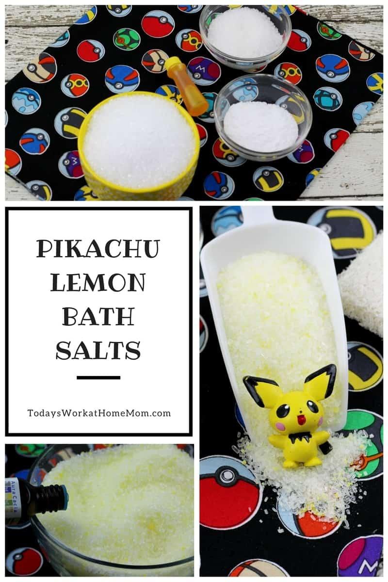 Pikachu Lemon Bath Salts 1