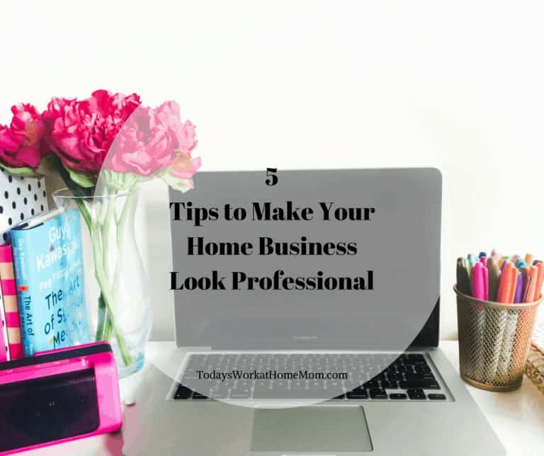 One of the toughest obstacles we face is how to make a home business look professional. We've put together some helpful ways you can make yours more professional and help you grow your business.