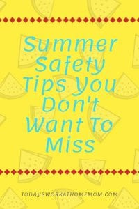 Summer Safety Tips You Don't Want To Miss