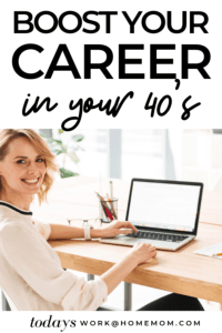 boost your career in your 40's