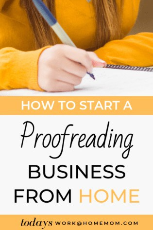 How To Start A Proofreading Business From Home