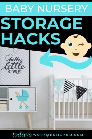 Baby Nursery Storage Hacks