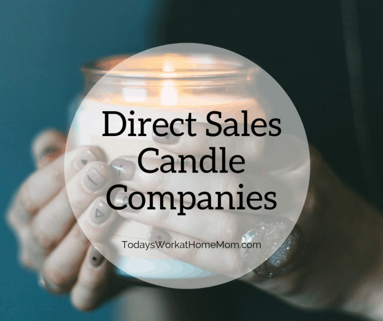 List Of Good Direct Sales Candle Companies To Join