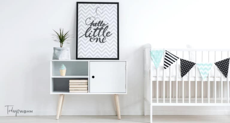 Storage hacks for baby nurseries