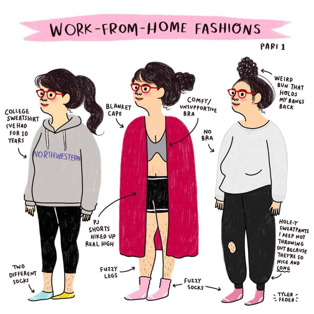 funny work from home fashions illustration stay stylish as a work at home mom