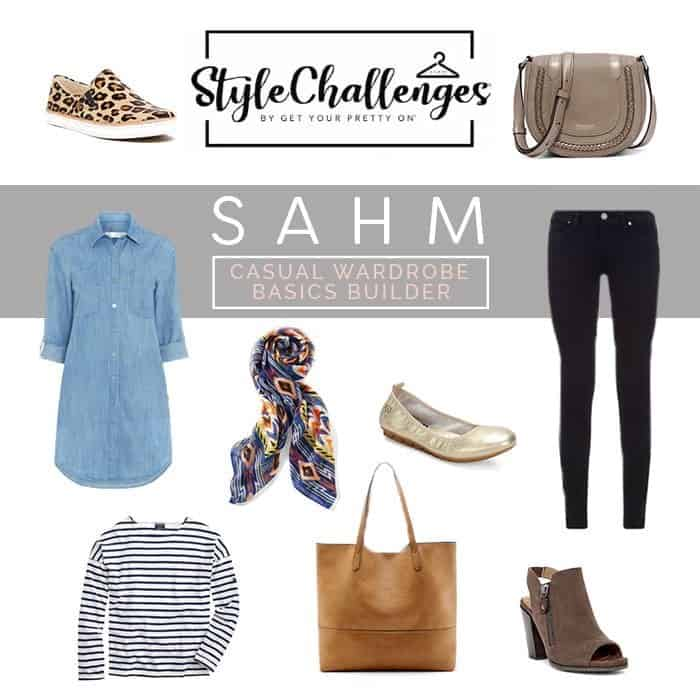 stay stylish as a work at home mom sahm style challenge
