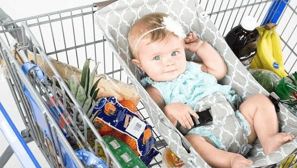 binxybaby shopping cart hammock for baby