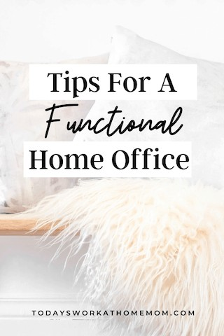 tips for a functional home office
