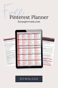 Pinterest Planner 1