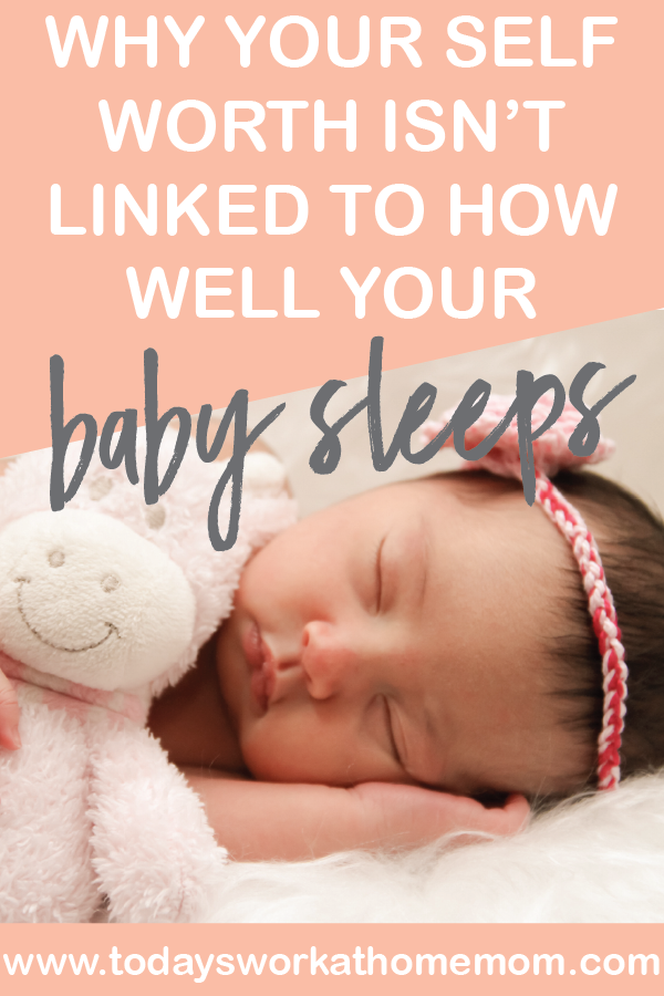 Why babies don't sleep thorugh the night and why your self worth isn't linked to how well they do sleep