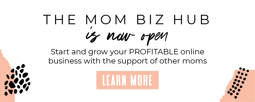 Start and grow your profitable online business with other moms doing the same